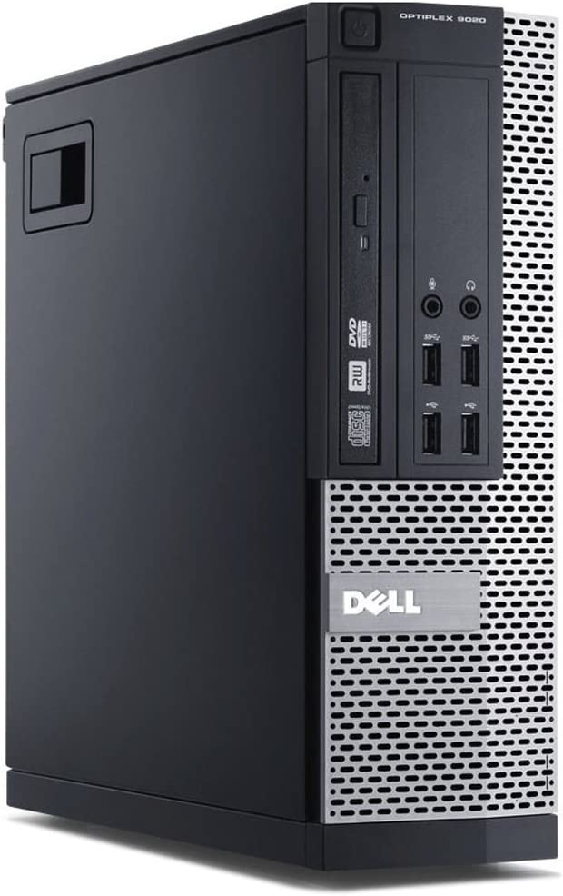 Fast Dell Optiplex 9020 Small Form Business Desktop Mini Tower Computer PC (Intel Core i5-4570, 16GB Ram, 2TB Hard Drive, WIFI, DVD-RW) Win 10 Professional (Renewed)