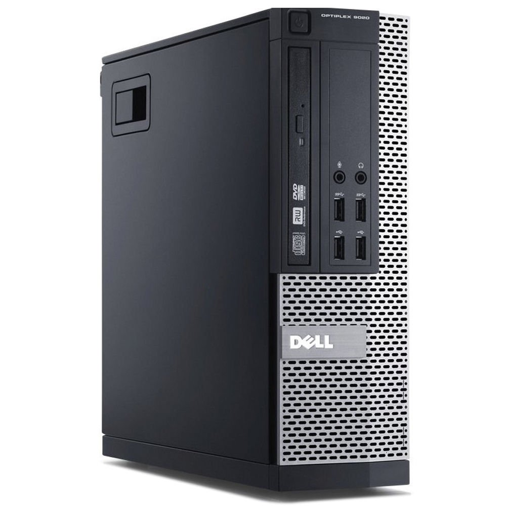 Dell Optiplex 9020 SFF Computer Desktop PC, Intel Core i5 Processor, 16 GB Ram, 2 TB Hard Drive, WiFi, Bluetooth 4.0, DVD-RW, Dual 19'' LCD Monitors (Upgrades Available) Windows 10 Pro (Renewed)