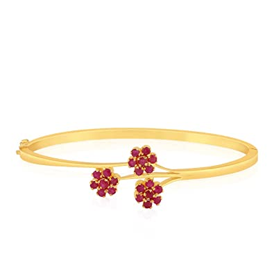 6dda94776 Buy Malabar Gold and Diamonds 22KT Yellow Gold Bracelet for Women Online at  Low Prices in India | Amazon Jewellery Store - Amazon.in