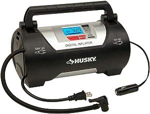 Husky HD12120B 12/120 Volt Auto Home Inflator