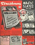 Strathmore Magic Slate for Christmas ad 1951 Mother Goose Magic Speller