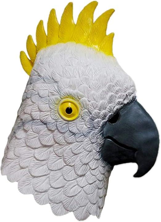 tytlmask Máscara De Cabeza De Pájaro Animal, Máscara De Látex De ...