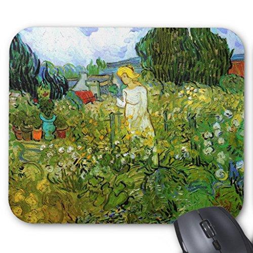 - Zazzle Van Gogh; Marguerite Gachet in Garden, Vintage Art Mouse Pad
