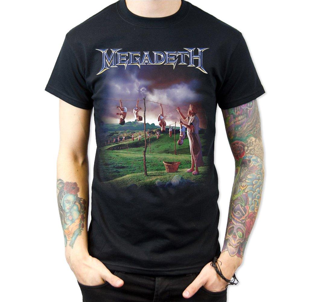 Megadeth Anasia T Shirt Black