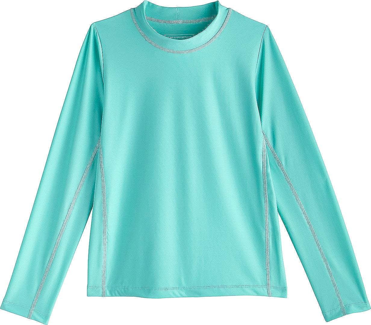 Sun Protective Kids Long Sleeve Surf Shirt Coolibar UPF 50