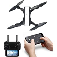 Amitasha New Foldable Wi-Fi Camera Drone with Altitude Hold and Headless Mode