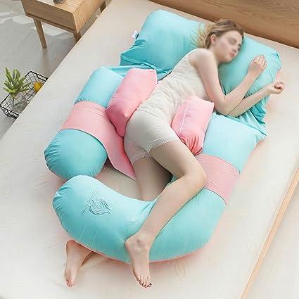 ecfb7d466 Almohada para dormir lateral de la cintura   almohadas para embarazadas   almohada  para el abdomen