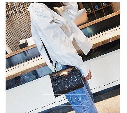 Mesdames Nouveau Mode GWQGZ Main Black Sac À 2018 Gray XRR5qB