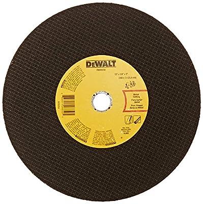 DEWALT DWA8032 Metal Port Saw Cut-Off Wheel, 12-Inch X 1/8-Inch X 1-Inch