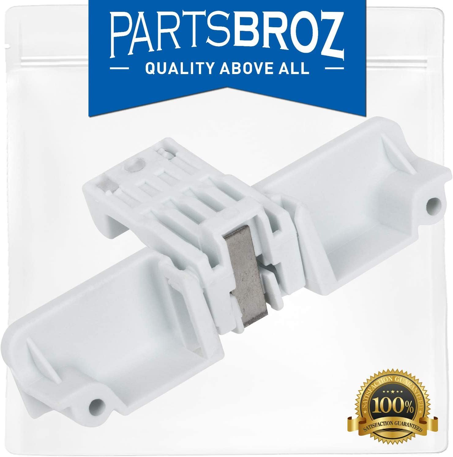 W10240513 Lid Switch Strike by PartsBroz - Compatible with Whirlpool Washing Machines - Replaces WPW10240513, AP6017583, PS11750882, WPW10240513VP