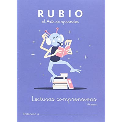 Lecturas comprensivas RUBIO +6: 1