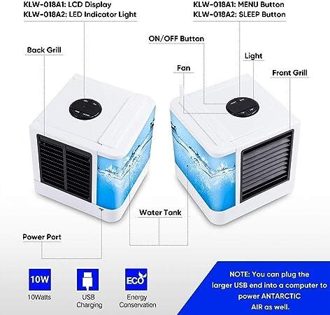 GJXY Ventilador del humidificador del Enfriador de Aire frío del ...