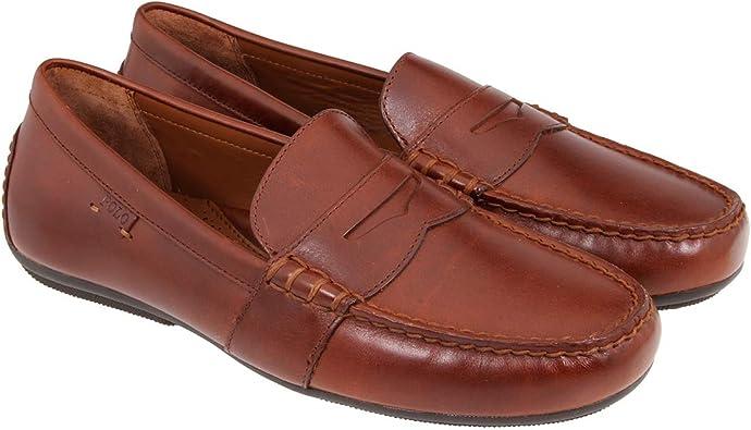 Polo Ralph Lauren - Mocasines para hombre Marrón marrón, color ...