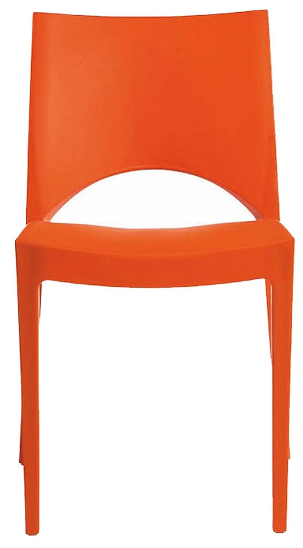 Sedia Paris arancio S6314A