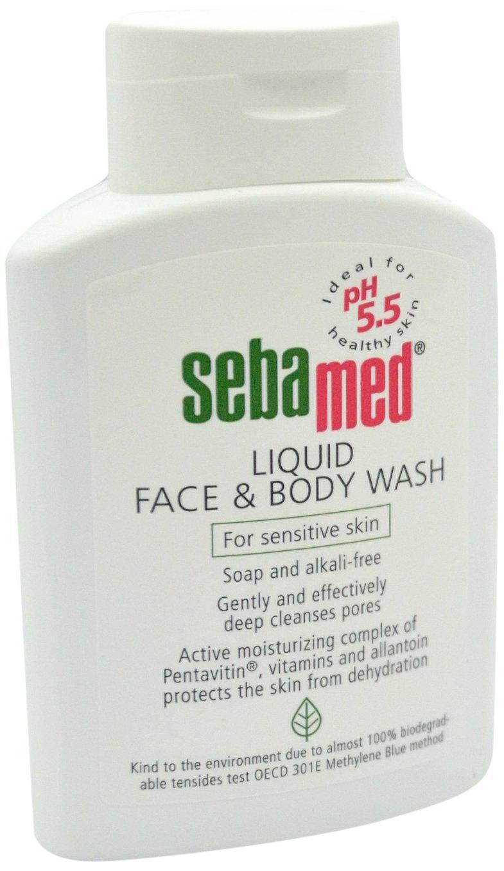 Sebamed Liquido Viso e Corpo Wash pompa Pot 1000ml Sebapharma SM0204