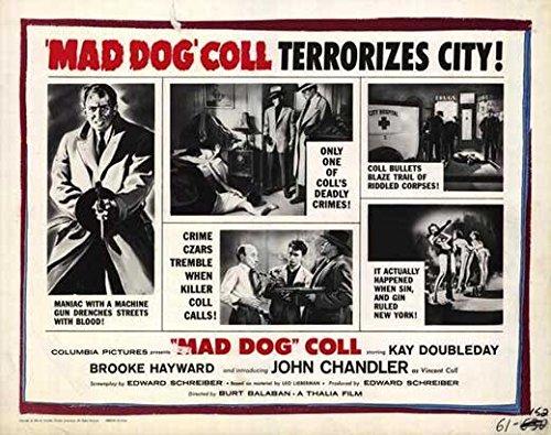 Mad Dog Coll POSTER Movie (1961) Style B 11 x 14 Inches - 28cm x 36cm (Kay Doubleday)(Brooke Hayward)(John Davis Chandler)(Neil Nephew)(Jerry - Brooke Style Davis