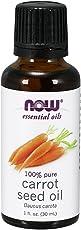 Now Essential Oils Organic Seed Oil, Carrot, 1 Fluid Ounce