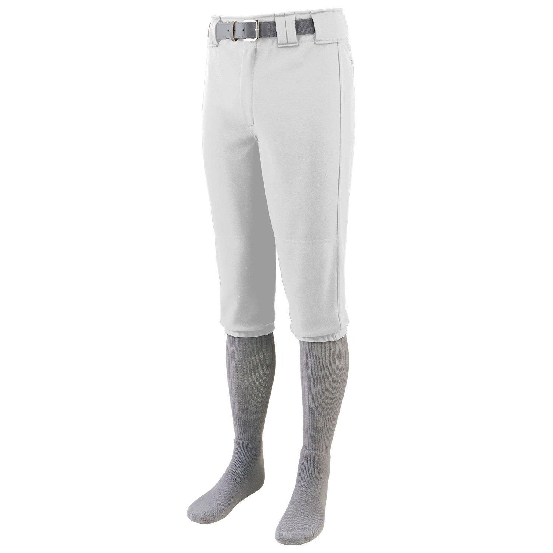Augusta Sportswear Boys 'シリーズ膝長野球パンツ B015JNS83S Medium|ホワイト ホワイト Medium
