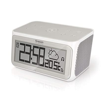 Oregon Scientific CIR100 - Radio Reloj inteligente conectado por ...