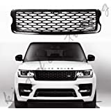 Silver Side door Air vent molding trim cover For Land Range rover SVO L405 2013+