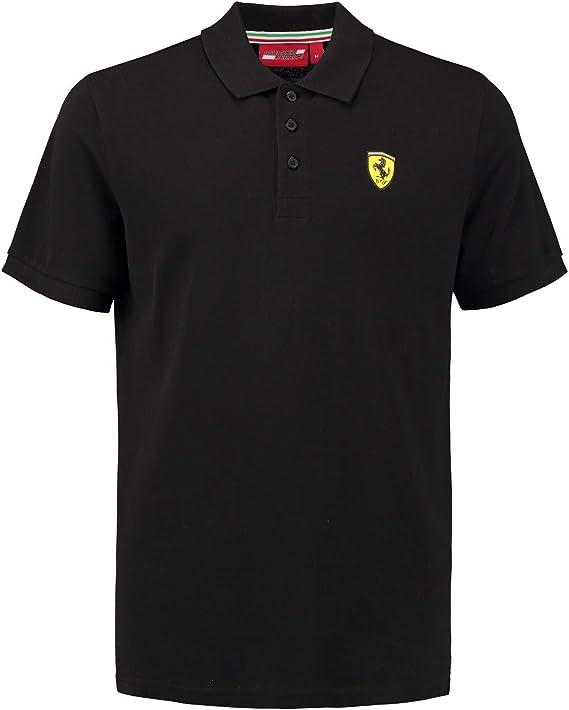 Ferrari 2018 Scuderia - Polo de manga corta para hombre (algodón ...