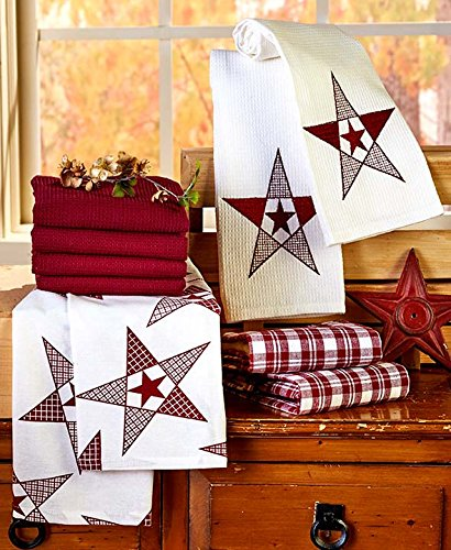 10-Pc. Country Star Kitchen Towel Set