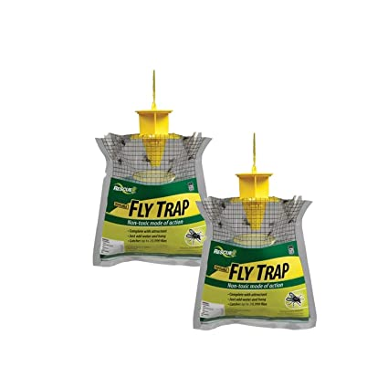 Business & Industrial Agriculture & Forestry Rescue Fly Tape 3 Pack Free Ship Fly Strip Fly Trap