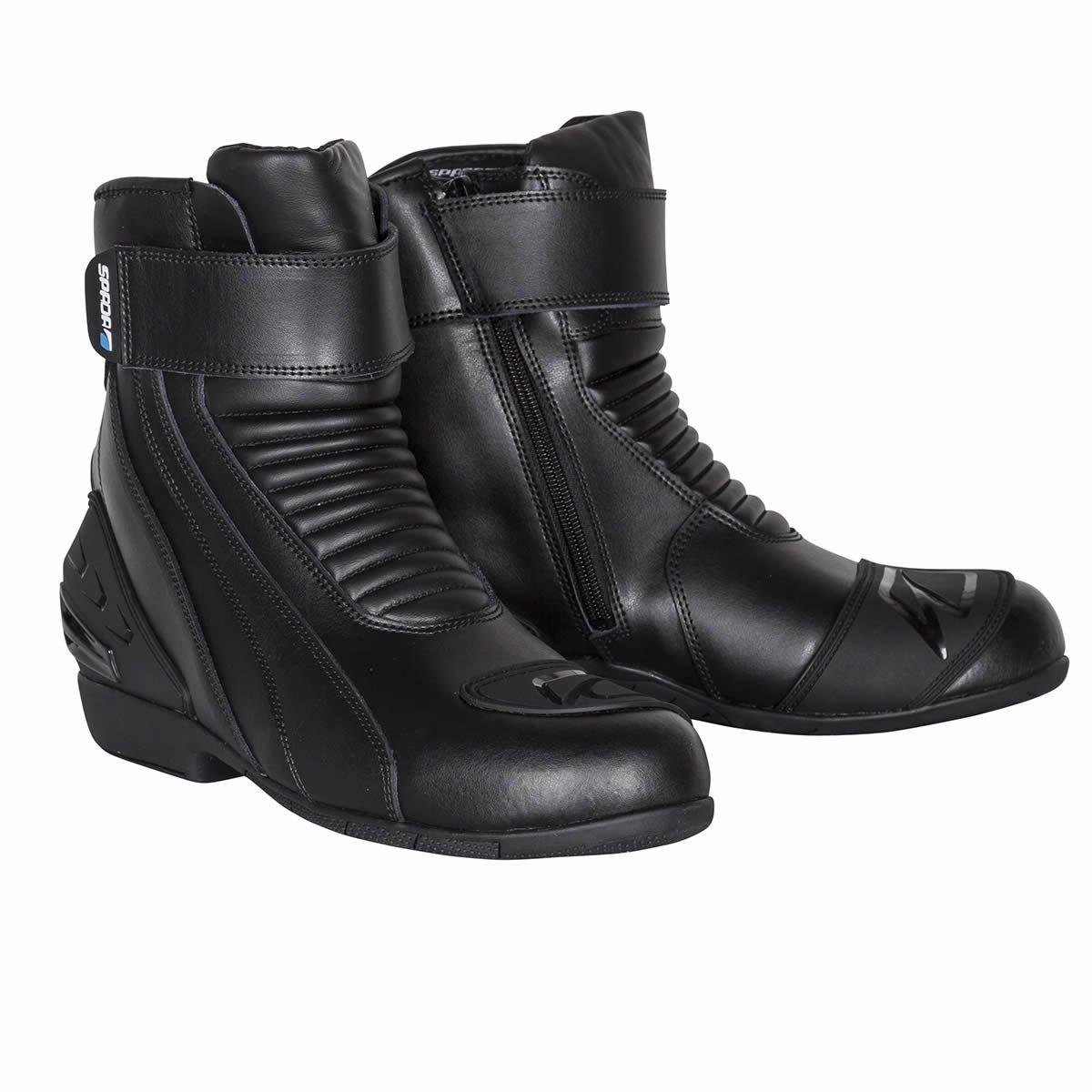 Spada Icon WP Boots Black W-17637807c3f9c80570ce0d523c42986f