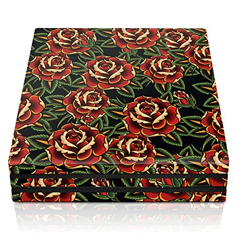 Controller Gear PS4 Pro Console Skin – Roses Horizontal – PlayStation 4