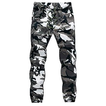 Amazon.com : Iuhan Men Drawstring Pants Fashion Mens Casual ...