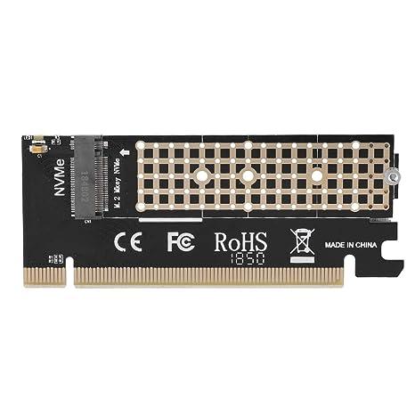 Kafuty Tarjeta Adaptadora PCIE MX16 PCIE 3.0 M.2 NVME SSD ...