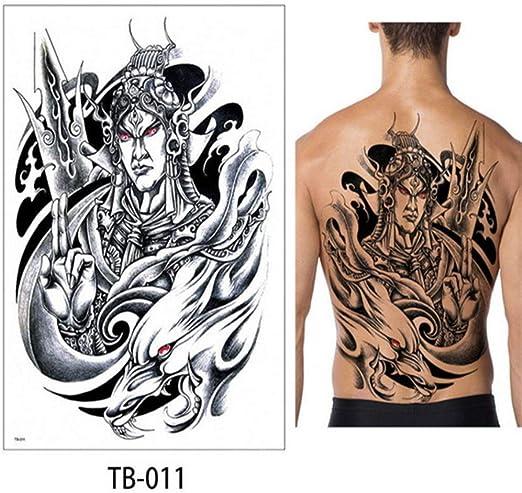 3pcs-Brazo Completo Tatuaje Temporal a Prueba de Agua Fresco Gris ...