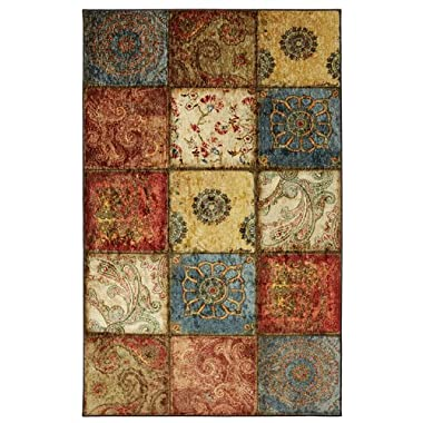Mohawk Home Free Flow Free Flow Artifact Panel Printed Rug, 5'x8', Multi