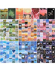 180 Pieces Journaling Aesthetic Stickers Space Moon Stickers Landscape Forest Stickers Decorative Nature Stickers Sky Cloud Mountains Scrapbook Stickers for Scrapbooking Planner Notebook DIY Crafts