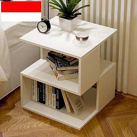 Amazon.com: Feifei - Mesa auxiliar de almacenamiento ...
