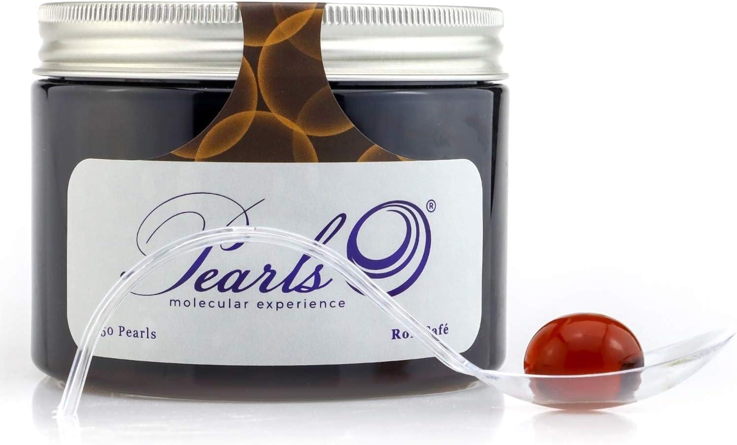50 Pearls Ron Café - Esferificaciones Premium listas para ...