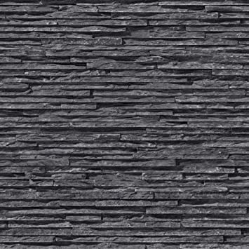 I Love Papier Peint Fine Ardoise Papier Peint Gris Anthracite Noir