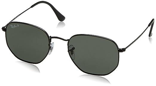 Óculos de Sol Ray Ban Hexagonal Polarizado RB3548N 002 58-54  Amazon ... 6d3051b509