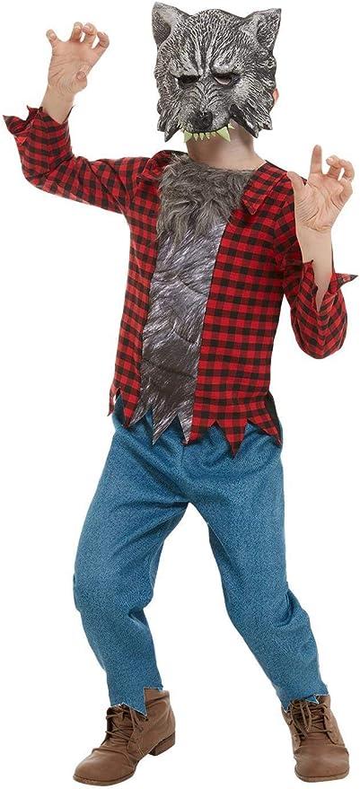Smiffys 50789S - Disfraz de hombre lobo para niño, talla S, color ...