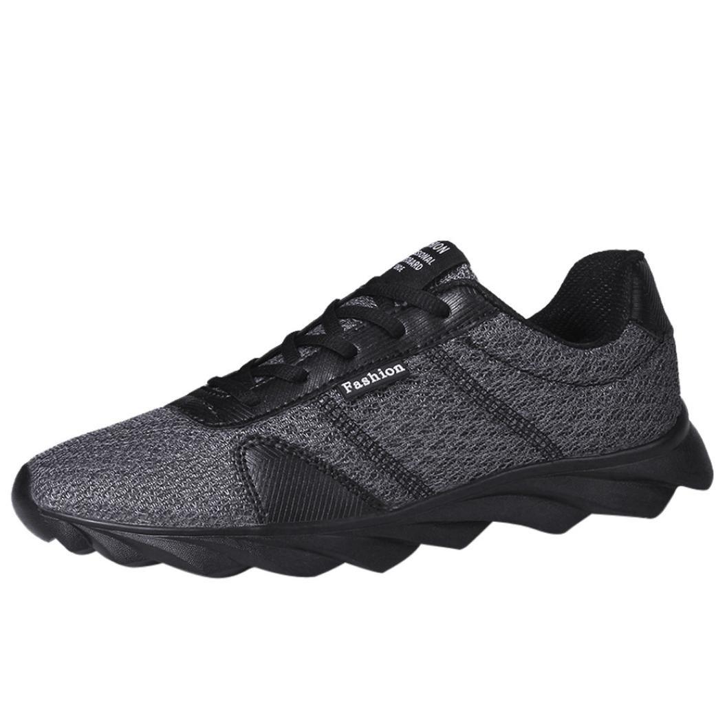 Logobeing Zapatillas de Deporte Hombres - Oferta Zapatillas Hombre Zapatos de Malla Casual Beathable Zapatillas de Running con Cordones Interior y Exterior, ...