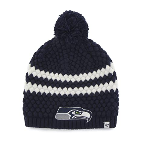 eb24d296912 Image Unavailable. Image not available for. Color   47 Women s Knit Seattle  Seahawks Beanie Cap