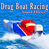 Several Drag Boats Idling, Revving, Then Racing Each Other from the Starting Line