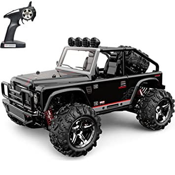 Amazon.com: RC Cars Remote Control Car Radio Control off Monster Truck High Speed Powerful Durable 4WD 2.4GHz 40KM/h (Black): Toys & Games