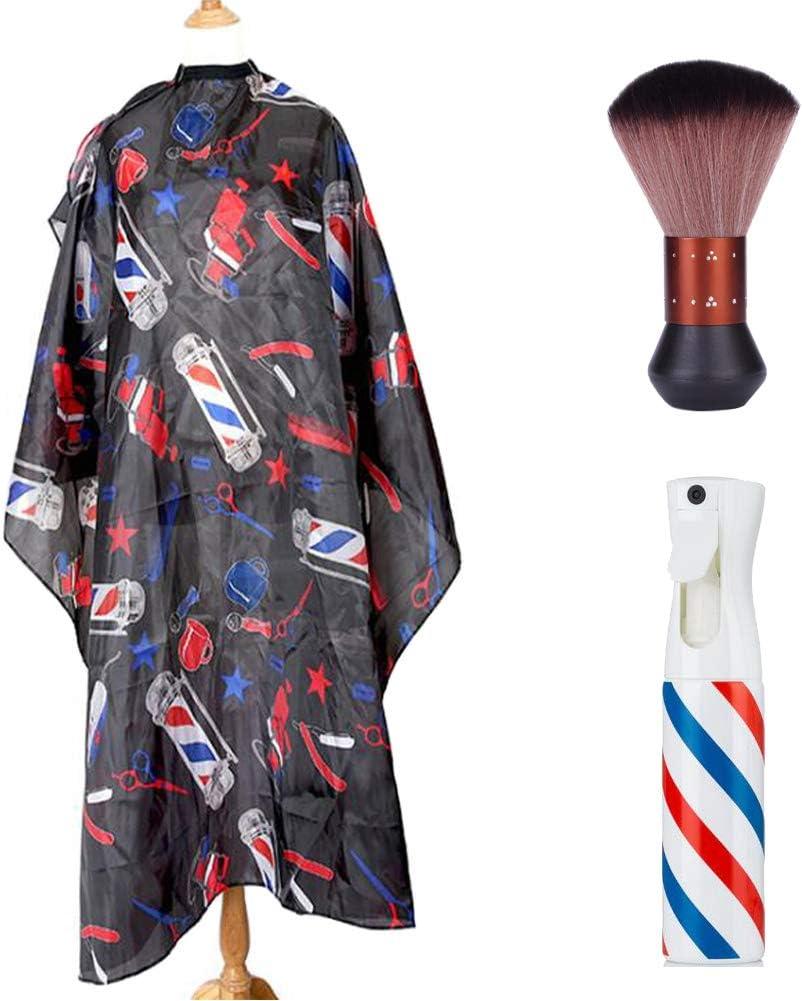 Hombre Barbero Capa Salón Peluquería Corte Pelo Capa ...