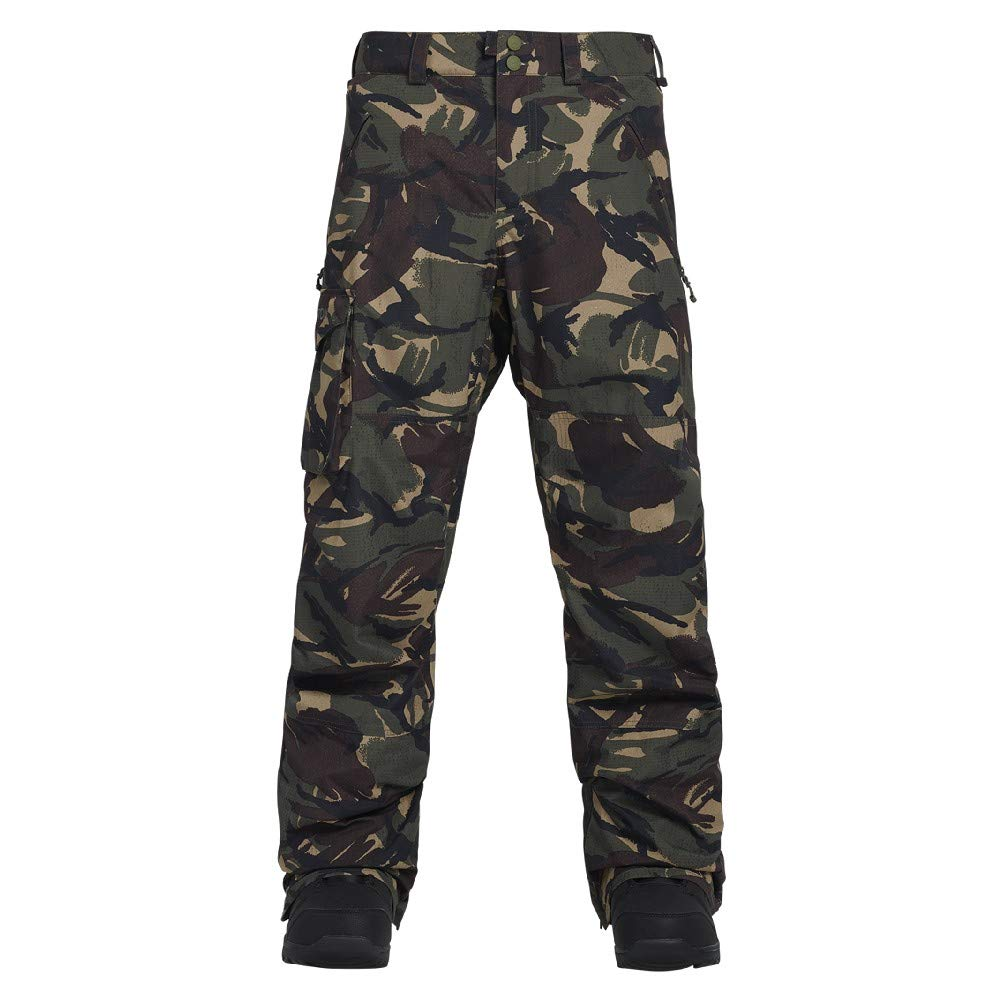 Burton Men's Covert Pant Insulated Snowboarding Pant, Seersucker Camo, Medium