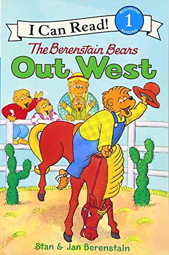The Berenstain Bears Out West (I Can Read Level 1)