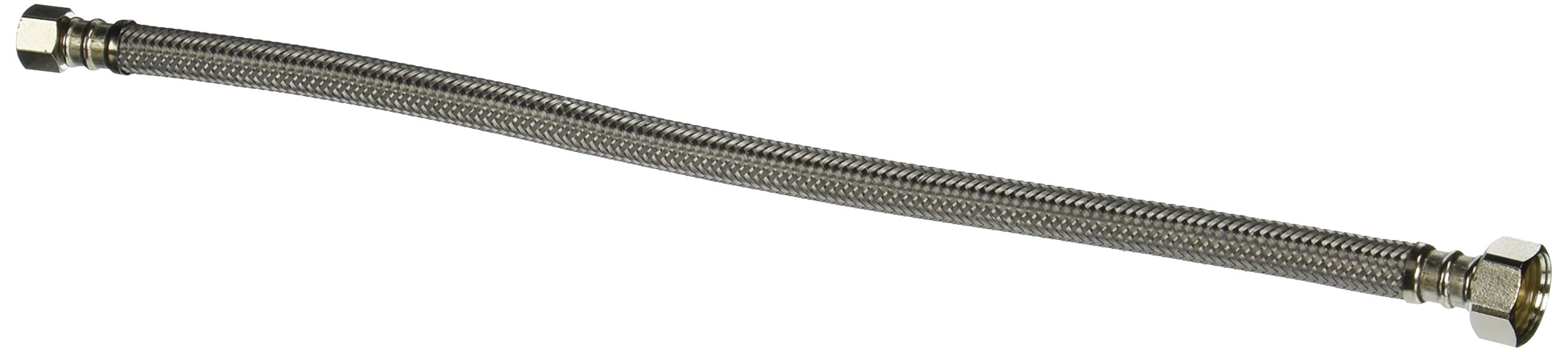 Fluidmaster PRO1F16 Braided Stainless Steel Faucet Supply Line