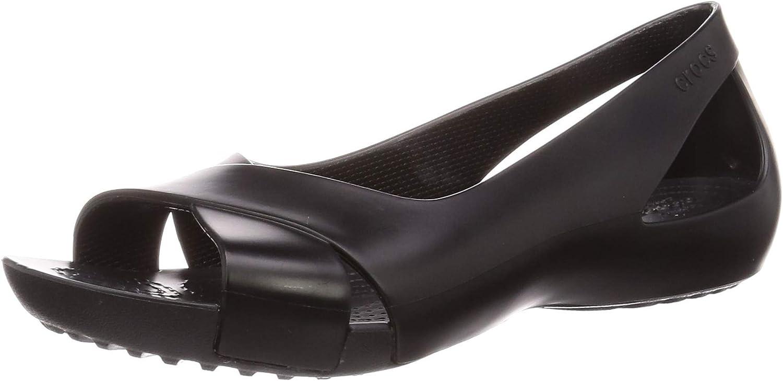 Crocs Women's Serena Flat | Women's Flats | Work Shoes for Women