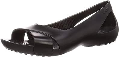 Crocs Women's Serena Flat | Slip On Work Walking Shoes Ballet