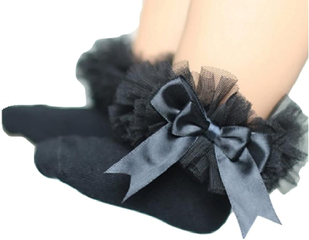 Black Ruffle Socks from Chunks of Charm